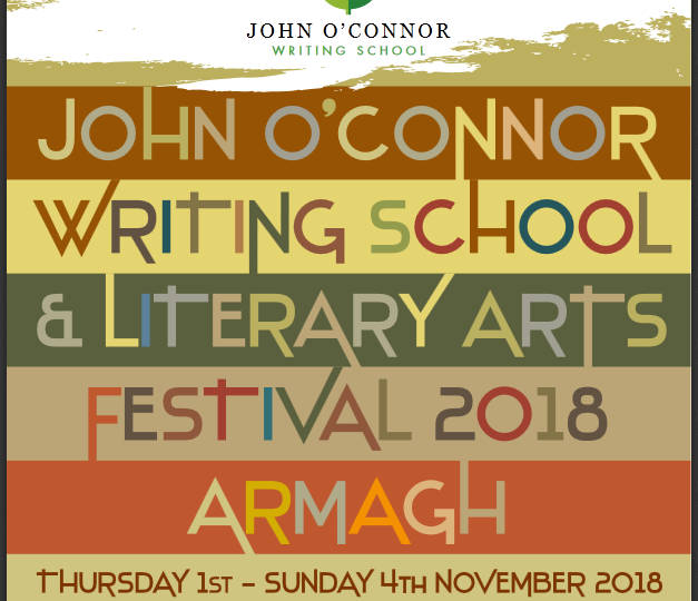 Talking at The John O Connor Writing School and Literary Arts Festival Programme Launch