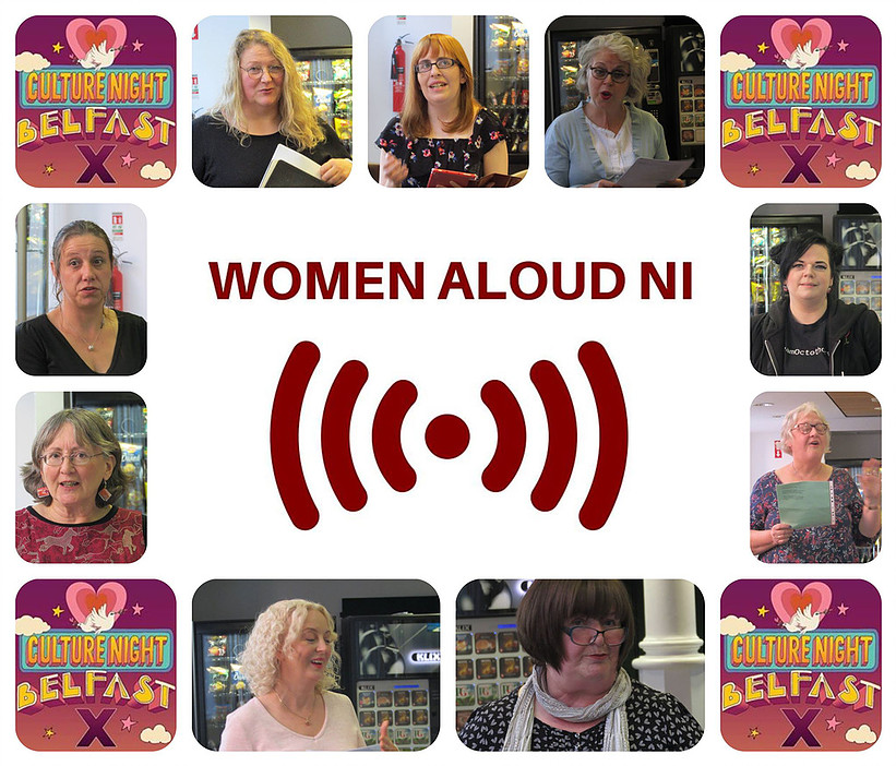 Culture Night Women Aloud NI event Photo By Karen Mooney