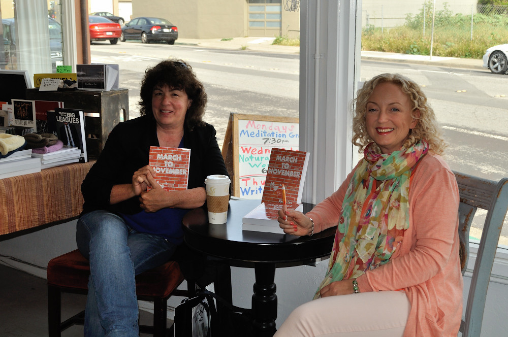 Book signing at Florey's Books Inc. Pacifica, California