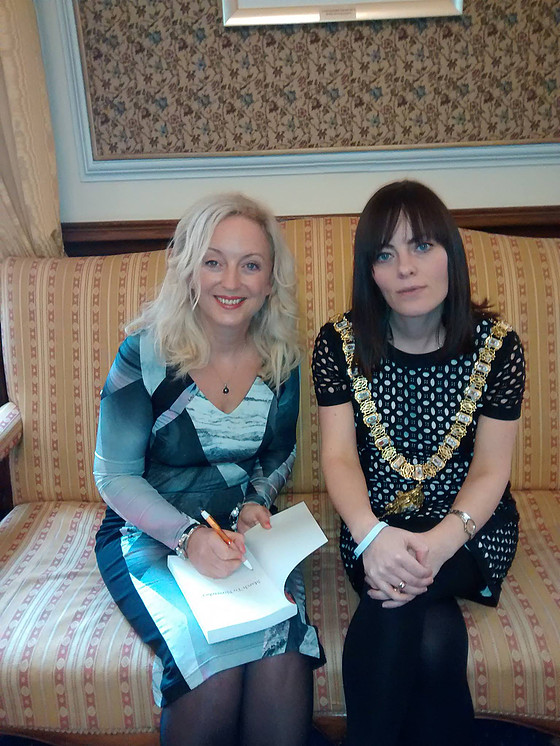 Tea with Lord Mayor of Belfast